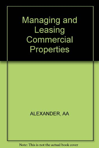 Managing and leasing commercial properties