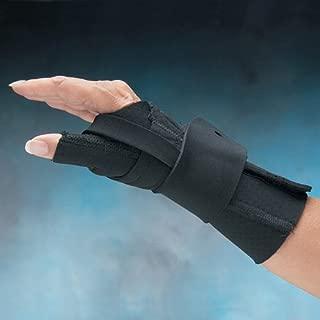 North Coast Medical Comfort Cool Arthritis Wrist & Thumb Splint - Comfort Cool Thumb & Wrist Splint, Medium Left NC79572