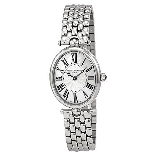 (フレデリックコンスタント) Frederique Constant Art Deco Silver Dial Black Stain Ladie Watch アールデコ調シルバーブラックステインレディース腕時計ダイヤル FC-200MPW2V6B [並行輸入品] DOLZIKGOO