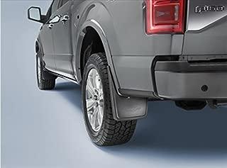 2015 Ford F150 Front & Rear Black Molded Splash Guards Mud Flap With Lip Set OEM