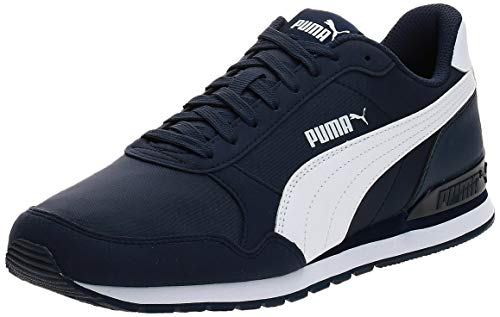 PUMA St Runner V2 NL, Zapatillas Unisex Adulto, Azul (Peacoat White), 39...
