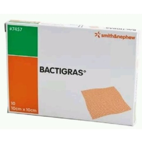 Bactigras 10cm x 10cm (x10) by Smith & Nephew