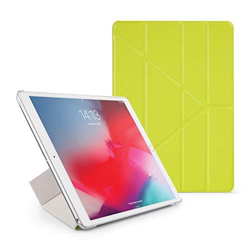 Pipetto Funda para iPad Mini – Origami Smart Cover iPad Pro 10.5 iPad Pro 10.5-Inch Pistachio & Clear