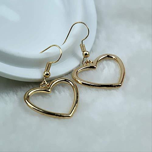 Ear Pins Heart Earring sieraden Boucle vrouwen bengelen Brincos Love romantische oorbel