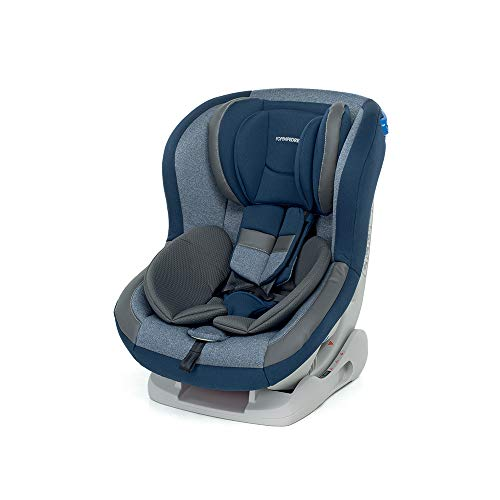 Foppapedretti Mydrive Seggiolino Auto Gruppo 0+/1 (0-18kg), per Bambini dalla Nascita Fino a 4 Anni Circa, Blu (Sky)