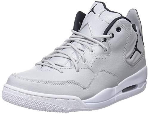 Nike Jordan Courtside 23, Zapatillas Altas Hombre, Gris (Grey Fog/Dark Smoke Grey-White 002), 44.5 EU