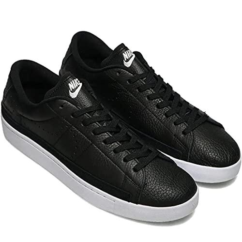 Nike Blazer Low X, Scarpe da Basket Uomo, Black/White-Gum lt Brown-Orange, 45 EU