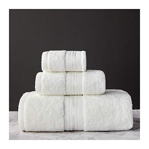 WAYYQX Sábanas Toalla 100% Algodón Egipcio Juego Toallas Baño Toalla Y Toalla Cara Can Sola Opción Baño Toalla Viaje Deportes Toallas, Paños De Set (Color : 4, Size : 3Pcs Towel Set)