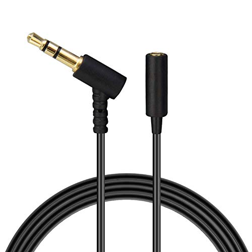Headphones Extension Cable Cord Line Compatible with Bose On-Ear Headphones, Earphone, Speakers / 3.5mm Male to Female Replacement Stereo Audio Cable - 20FT