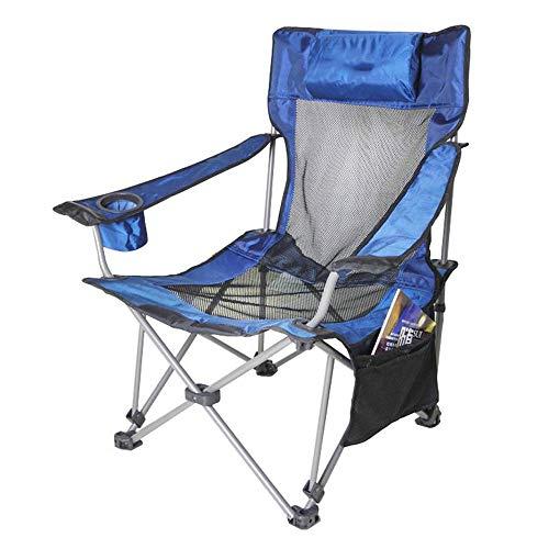 Opvouwbare campingstoel voor zwaar gebruik met draagtas en kussen Draagbare vier stoelen, bekerhouder, ondersteuning 264 LBS