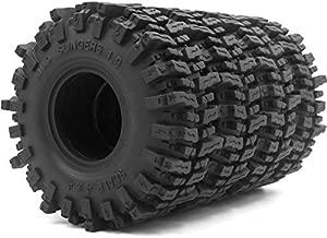 4pcs RC 1.9 Mud Slingers Tires Super Grip Tyre Height 120mm Fit 1.9 Beadlock Wheel Rim