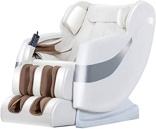 ZAMAX Poltrona massaggiante Shiatsu, Massage Chair Completa 4D Corpo Piede Elettrico Spa Massaggio del Collo Zero Gravity Shiatsu Massage Chair Piccola Panca, Massaggio Intelligente Multifunzione