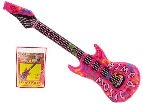 Music Power opblaasbare gitaar 34 inch - Single