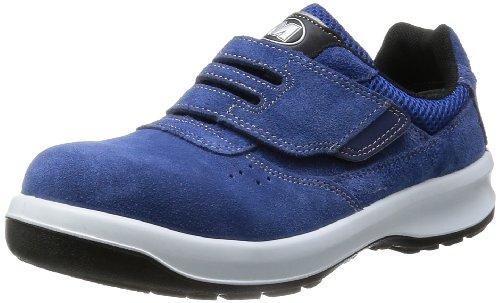 [ミドリ安全] 安全靴 JIS規格 マジックタイプ スニーカー G3555 メンズ ブルー 26.5 3E