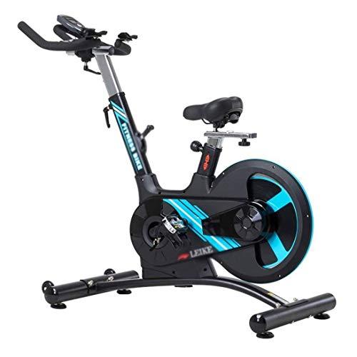 WJFXJQ Giro de la Bici Bicicleta de Spinning Indoor Sports Bicicleta de Pedales Gym Equipment 22 Kg dinámico Volante extraíble Control de Las pulsaciones