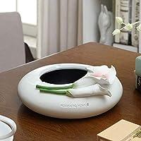 SCH-SC 灰皿 リリーカーラ灰皿ファッション牧歌的な創造性人格ギフト絶妙な樹脂 おしゃれ 大容量