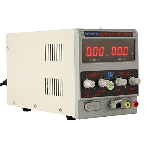 30V 5A Regelbar Labor Netzgerät Digitales DC Labornetzteil Trafo Variable