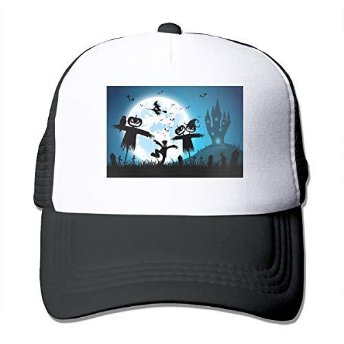 NA Festival Halloween vogelverschrikker pompoen top honkbalpet Unisex klassieke vrachtwagen bestuurder hoed