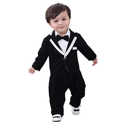 YRE Baby Boy Enfants Robe de Combinaison, à Manches Longues bébé Homme Combinaison vêtements,95