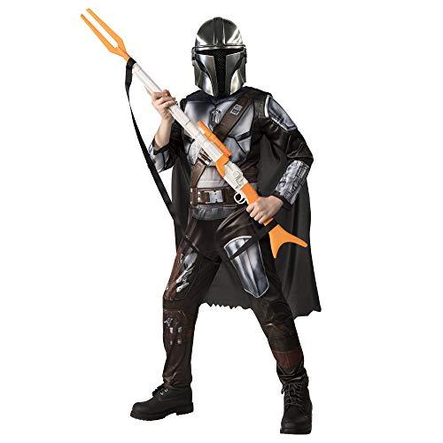 Rubie's Disney Star Wars The Mandalorian Kinderkostüm, Kinderkostüm, Größe L, Alter 10–12 Jahre, Körpergröße 137–149 cm