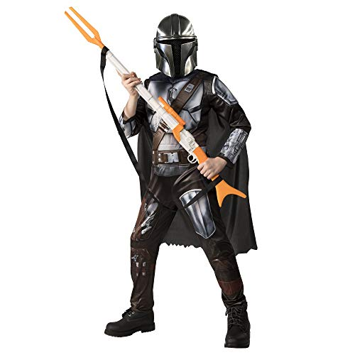 Rubies-Rubie'S Official Disney Star Wars The Mandalorian Disfraz niños, Color como se Muestra, L (10-12 A / 137-149 cm) (300929-L)