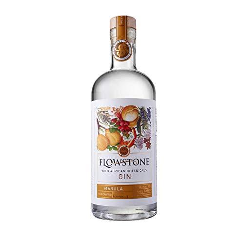 Flowstone Marula Gin – Wild African Botanicals [ fruchtig, floral, mit angenehmer Würze] aus der Wiege der Menschheit/Südafrika/Craft Gin/handgemacht 43% Vol. / 0,7l (Flasche)