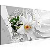 Wandbilder Blumen Lilie 3D 1 Teilig Modern Vlies Leinwand