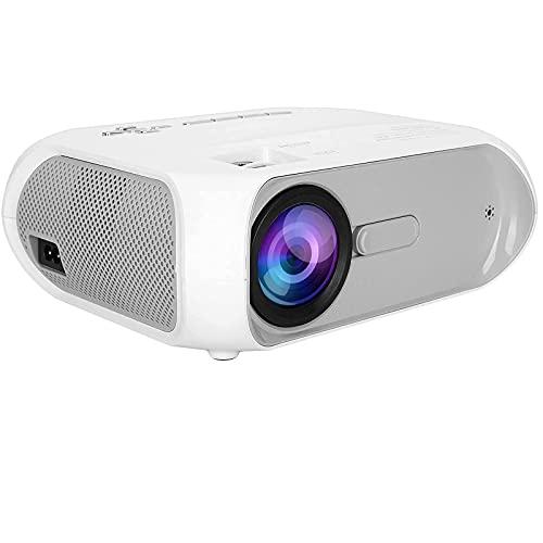 XDLH Proyector De 1080P, Proyector WiFi De Pantalla LCD TFT Portátil Mini, Reflejo De Pantalla, Interfaz Multimedia HD/VGA/para Puertos AV/USB, para Proyector De Cine En Casa