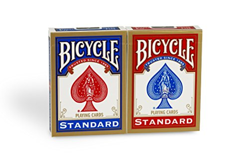 2 juegos de cartas:Bicycle Standard
