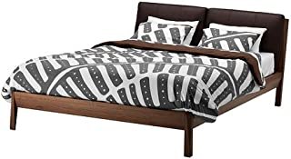 IKEA Stockholm Duvet Cover and Pillowcase, Gray/White, Twin