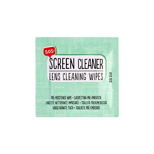 Legami Sos Screen Cleaner, Salviettine Pre-Imbevute - 80 Gr