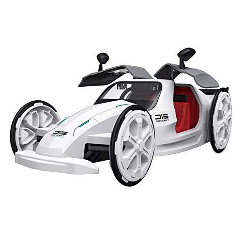 Aibecy DIY Coche de energía solar, kit de montaje de vehículos 4WD STEM temprano juguete educativo solar y alimentado con batería para niños y niñas a partir de 6 años