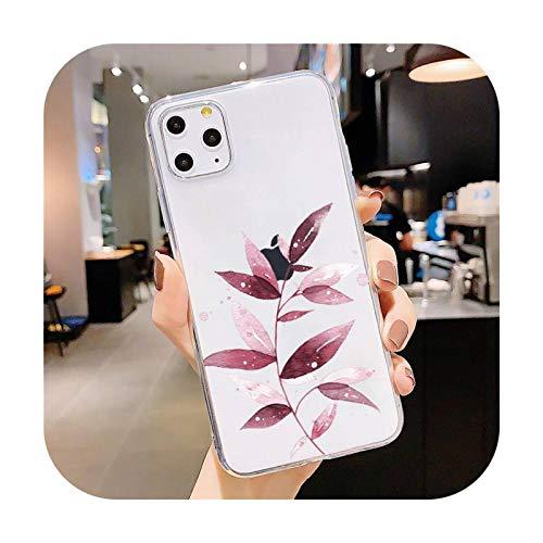 Funda para teléfono móvil transparente suave para iPhone 5, 5S, 5C, SE, 6, 6S, 7, 8, 11, 12 Plus, Mini, XS, XR, Pro max-a11-For 11 Pro Max.
