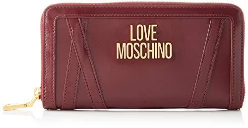 Love Moschino JC5646PP0BKS0, Billetera para Mujer, Vino, Normale