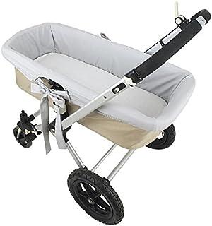 comprar comparacion Funda interior gris para capazo de bebé