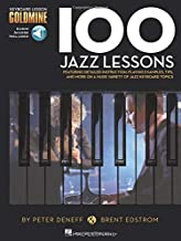 100 Jazz Lessons: Keyboard Lesson Goldmine Series Book/Online Audio