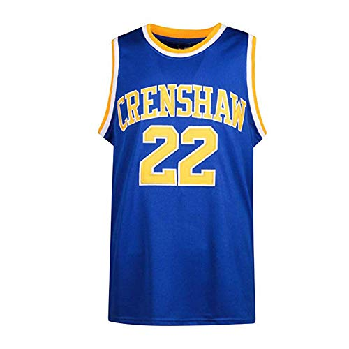 oldtimetown Quincy McCall 22# Crenshaw High School Love and Basketball Jersey