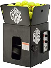 Sports Tutor Tennis Cube w/oscillator - Most Compact Portable Tennis Machine. Made in USA by #1 Tennis Machine Company in The U.S. and Worldwide