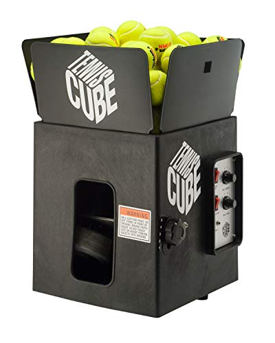 Sports Tutor Tennis Cube w/oscillator - Most Compact Portable Tennis Machine. Made in USA by #1 Tennis Machine Company in...