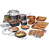 Gotham Steel Pro Hard-Anodized 20-Piece Cookware & Bakeware Set