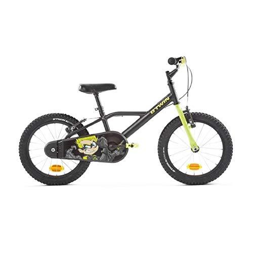 Btwin Darkhero 500 3-6 Years Kids Cycle - Black