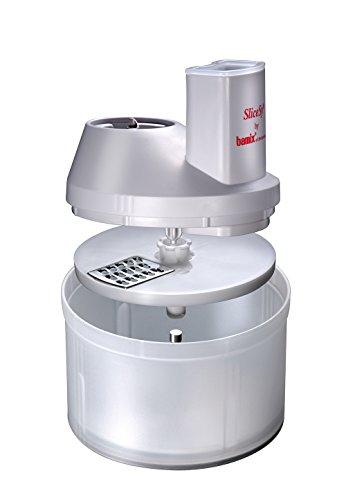 Bamix MX150064 Bol à râper SliceSy Blanc pour mixeur plongeant Bamix