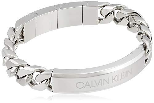 Calvin Klein Valorous KJBHMB0001 - Pulsera de acero inoxidable para hombre