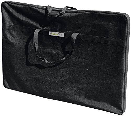 Eurotrail Sac de rangement en polyester Noir 125 x 75 x 6 cm