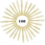 80 Forchettine Monouso in Legno