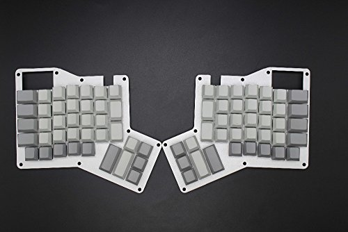 YMDK Cherry Profile Thick PBT Blank Ergodox Keycap Set for Ergo Ergodox Keyboard