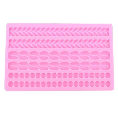 Moldes para tartas de silicona antiadherentes de grado alimenticio, para hacer chocolate, decoración de pasteles