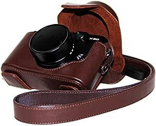 Custodia protettiva in pelle PU camera bag custodia cover per Fujifilm X10X20