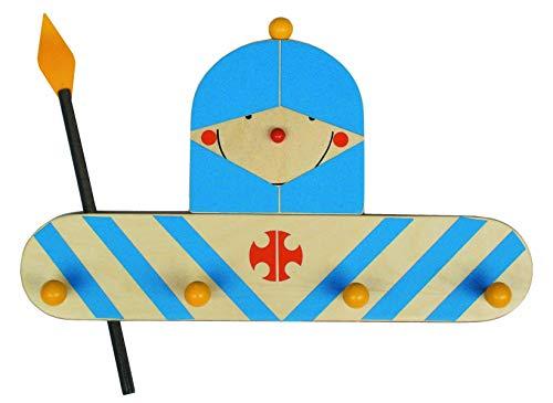 Niermann-Standby 929 - Garderrobe Ritter - Hier hangt de kleine ridder zijn uitrusting op. Garderobe op hout met 4 haken