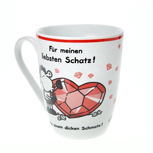 """Sheepworld 59233Lieblingstasse """"Für meinen liebsten Schatz"""", Porzellan"""